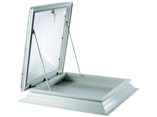 Polycarbonate Flat Roof Access Opening Skylight Dome Window U0026 Upstand Kerb