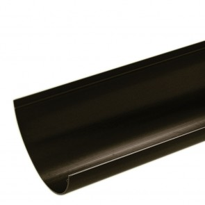 Gutter Half Round Black 112mm x 4m