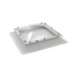 Polycarbonate Flat Roof Fixed Skylight Dome Window & Upstand Kerb